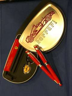 Ferrari Pen Set with Keychain