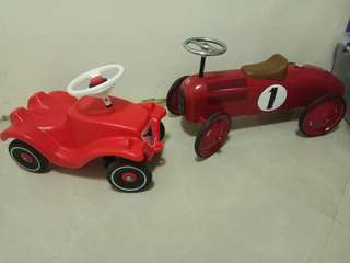 Vintage kiddy car