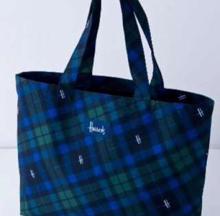 Harrods Checkered Tote Bag - New