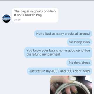 Cheater Seller