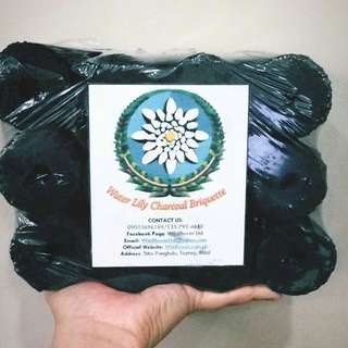waterlily charcoal