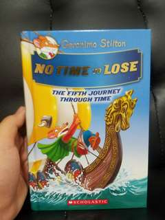 Geronimo stilton-NO TIME TO LOSE