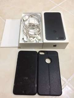 Iphone 7 plus 32gb complete smart