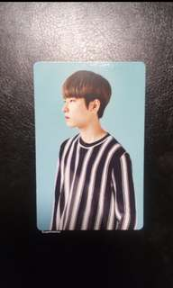 {wts} wonwoo 2nd gen pc