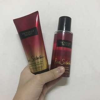 VS fragrance lotion + fragrance mist