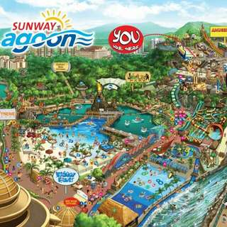 Sunway Lagoon All 6 parks Ticket