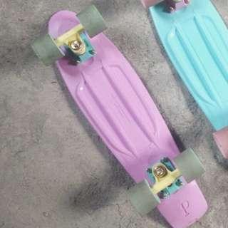Penny board pastel