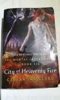 City of Heavenly Fire: the mortal instruments book 6