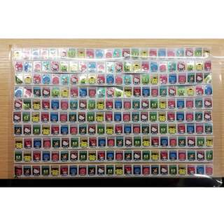 7-11 Sanrio Characters Lock & Go Container Series Stickers