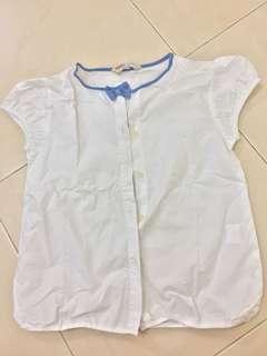 White sleeveless