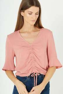 Cotton On Rouched Top