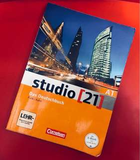 Studio [21] A1 by Das Deutschbuch with DVD-Rom German Edition Textbook