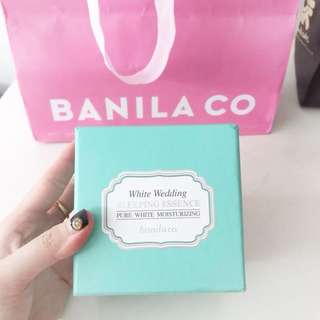 "Banila Co (KOREA ORI) Sleeping Essence ""Pure White Moisturizing"""