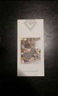 {wts} mingyu bookmark