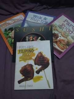 Cook books!