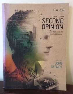 Second Opinion (5th Ed) - Germov, John