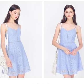 Edel Lace Swing Dress