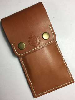 Leather 3-pen holder