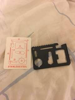 不鏽鋼多功能萬用卡刀