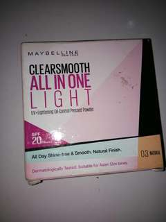 Maybelline Clearsmooth All in One Light 03 Natural