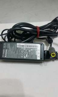 Original Lenovo laptop charger 20V..3.25A 65w good condition only 15