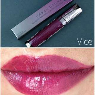 Urban Decay's Revolution High-color Lipgloss in Vice
