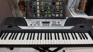 Electronic Keyboard with stand and bench