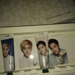 EXO NATURE REPUBLIC HANDCREAM