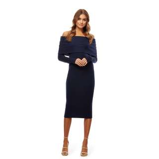 New!Kookai Off the Shoulder Wool Dress RRP$140, Free postage!
