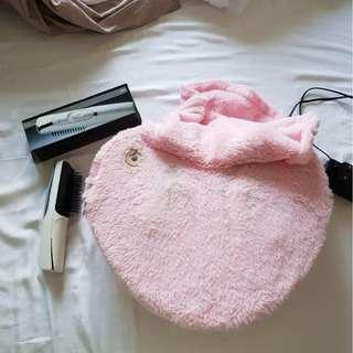 Used - OTO Back Massage Heated Pillow and OSIM IBrush