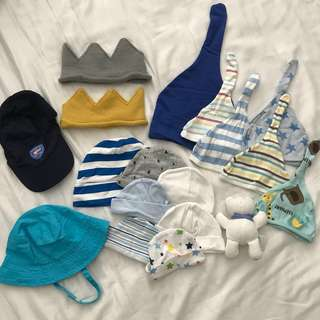 Baby hats beanies accessories crown