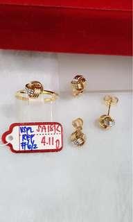 18k Set Saudi Gold