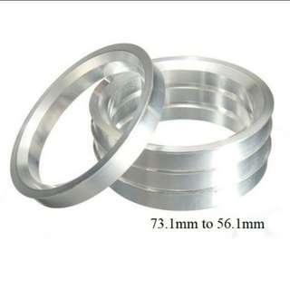 Wheel Spigot (Centre Hub) Ring 73.1mm to 56.1mm