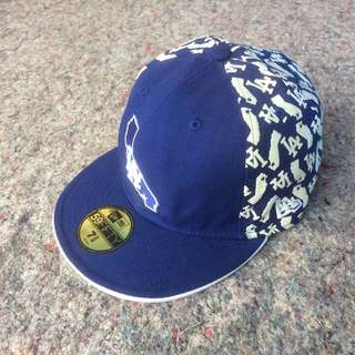 NEW ERA 59FIFTY MLB LOS ANGELES HAT FITTED BLUE CAP