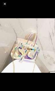 Hologram Transparent Handbag