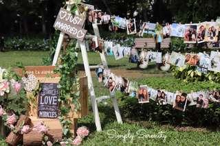 Ladder Decoration 婚禮佈置