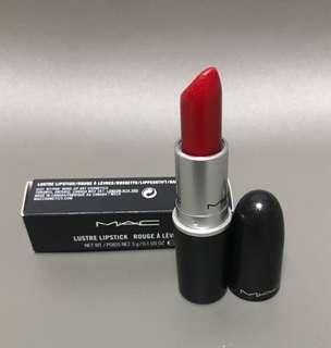 MAC luster lipstick rouge cockney