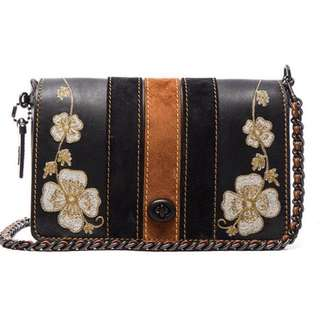 Inspired coach dinky bag