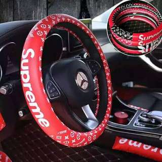 New Supreme Steering Wheel Cover
