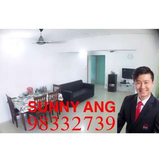 4A UNIT @ BLK 17 TELOK BLANGAH, COMPETITIVELY PRICED & HIGH FLOOR !!!