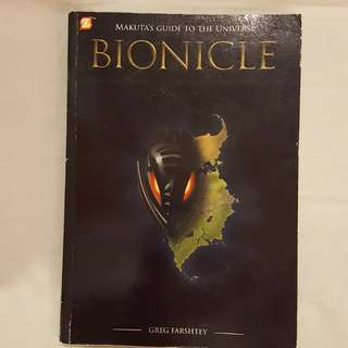 Lego book BIONICLE