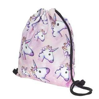 [PO] Unicorn Drawstring Bag