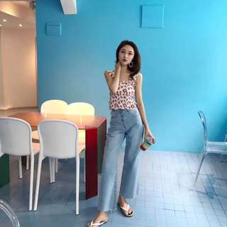 Chloe top and jeans set