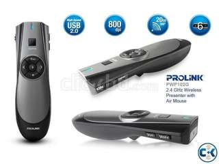 Prolink 2.4 GHz Wireless Presenter with Air Mouse (BNIB)