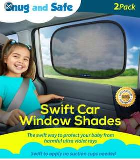 2pc Car Shade Window