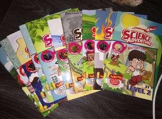 Science adventure volume 3 2016 level 2