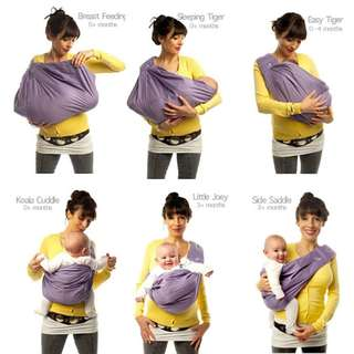 Ori The Baba Sling 5 in 1 Baby Carrier Classic