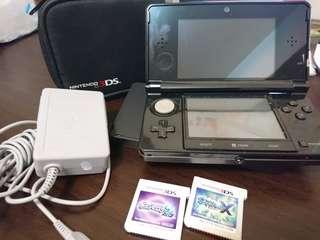 Nintendo 3DS主機 神奇寶貝寶可夢月亮藍寶石x