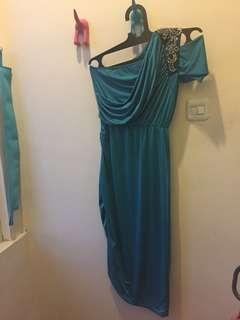 Party dress Tosca one shoulder