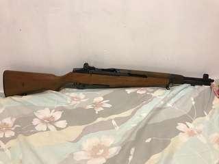 絕版Marushin GBB 8mm 跳殼m1 (不能發射) war game 生存遊戲 野戰 玩具槍